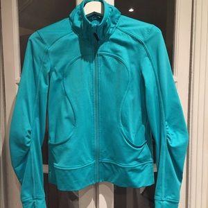 Lululemon turquoise hoodie. Size 6